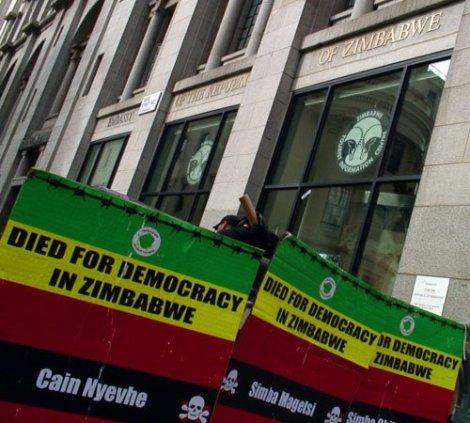 >Zimbabwe Democracy: Vote Or Die