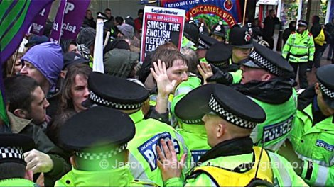 Video: Bolton UAF policing in Question