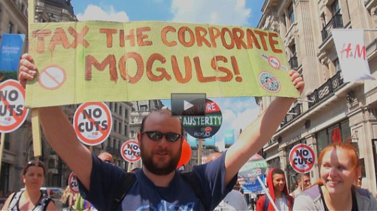 Peoples Assembly Anti Austerity Protest